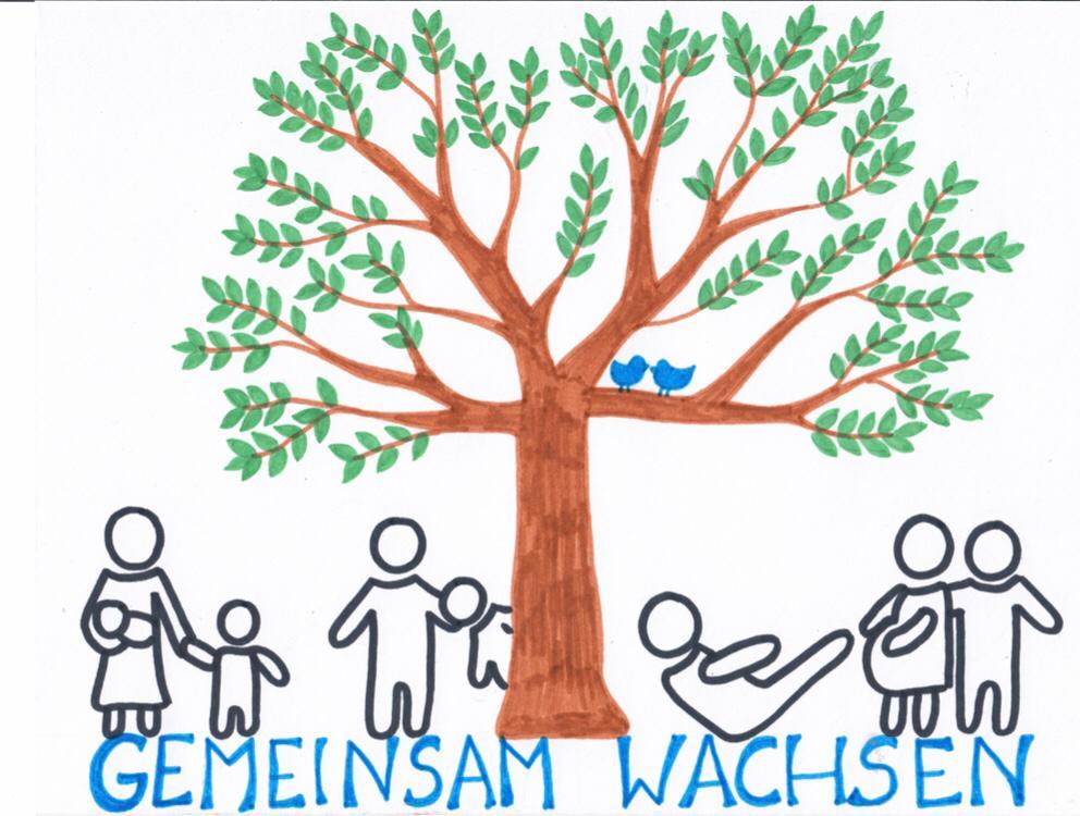 Logo gemeinsam Wachsen